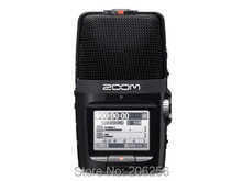 NEW Promotion Zoom H2n Portable Digital Audio Flash Recorder Handy Recorder recording pen Boutique retail packaging Russia