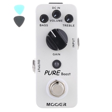 Pure Boost Clean Booster Electric Guitar Effect Pedal Nice Embellishing Of Original Tone True Bypass Free Shipping