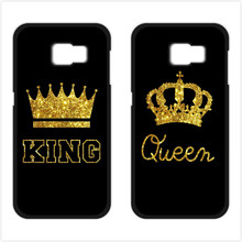 King Queen Coque Cover Case for iPhone 4S 5 5S 5C SE 6 6S Plus Samsung S3 S4 S5 Mini S6 S7 Edge Plus A3 A5 A7