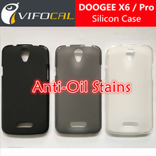 DOOGEE X6 Silicon Case 100% New Anti-Oil Soft TPU Protective Back Silicon Cover For DOOGEE X6 Pro Mobile Phone + Free Shipping