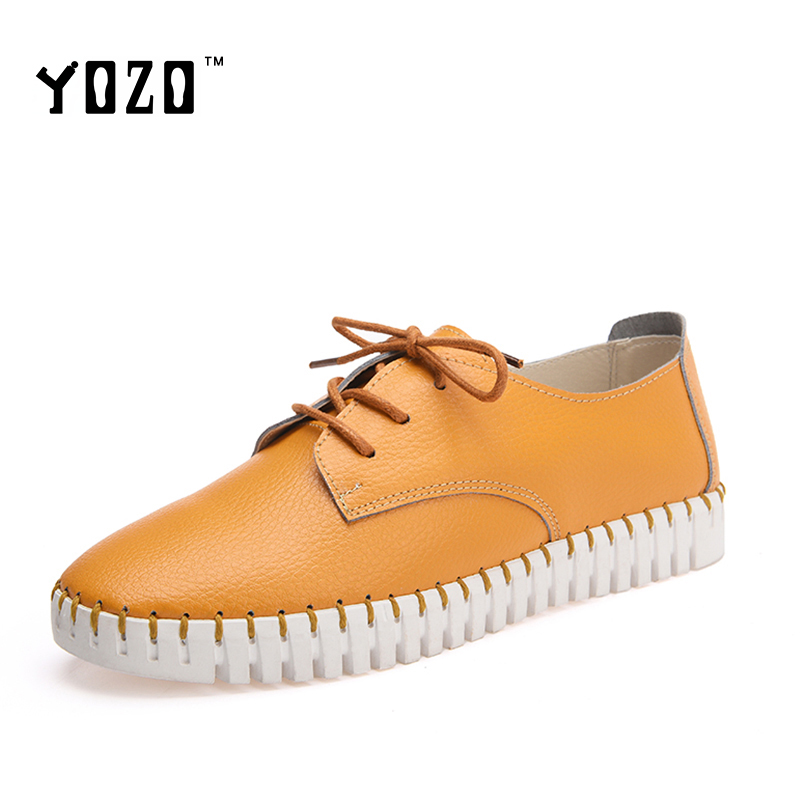 YOZO Women Shoes Microfiber Shoes Women Flat Platform Leisure Shoes Women Breathable Casual Brand Shoes Zapatos Mujer 2016<br><br>Aliexpress