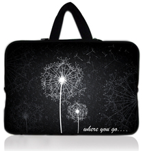 "14"" Dandelion Laptop Sleeve Case Bag Cover +Handle For Sony VAIO/CW/CS/HP Dell Acer Apple Macbook Pro 15"""