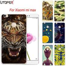 Phone Cases For Xiaomi mi Max Cover Custom Logo Design Personalized DIY Cases For Mi Max cheetah stars Soft Silicone Phone Cover