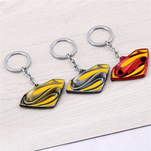 Julie The Avengers Series Moives Superman Logo Keychains For Fans 3 Colors Batman   Superman Key Ring Holder Cosplay Jewelry