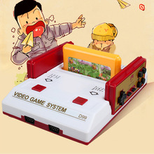 US plug Classical family game box TV game console 8bit TV game 80 yesrs after console with 400 different game