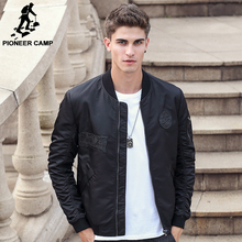 Pioneer Camp fashion jacket men brand clothing male jacket coat quality casual men coat wind breaker male bomber jacket 611303
