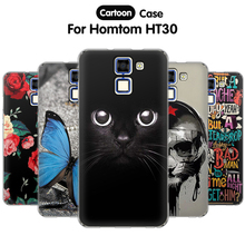 Buy EiiMoo Cartoon Print Back Cover Fundas Homtom HT30 Case Silicone 3D Soft TPU Phone Case Doogee Homtom HT30 Case Cover for $2.18 in AliExpress store