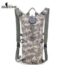 Portable Hydration Packs Camo Tactical Bike Bicycle Camel Water Bladder Assault Backpack Camping Hiking Pouch Water Bag XA207WD(China)
