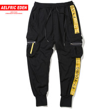 Aelfric 2018 Eden moda de hombre bolsillos de carga pantalones casuales  corredores del Harem Baggy Harajuku Streetwear Hip Hop p. 49ccbbe8dde