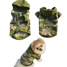 1 PC S,M,L,XL Stylish Dog Pet Clothes Hoodie Warm Sweater Puppy Coat Apparel Camouflage Cheap Pet Clothes For Dogs Cats D19(China)
