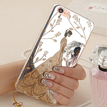 YonLinTan i case For iPhone5 iphone 5 s 5s se 5se case Luxury Mirror Fashion Copy Hard cover phone cases FLOWER coque Capinha de