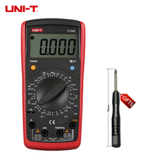 UNI-T UT39E General Manual Range Digital Multimeters UT 39E Transistor DC AC Volt Ampere Resistance Capacitance Frequency Meter(China)