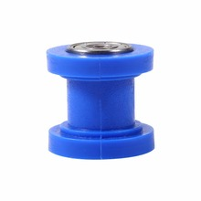 8mm Dirtbike Drive Chain Roller  Tensioner Guide Wheel Pit Bike Chain Roller Blue 2016 New