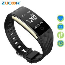 ZUCOOR Smart Bracelet Fitness Pulse Monitor Bracelets S2 Pedometer Wearable Devices Tracker   Band Pulsometro Rastreador Watch
