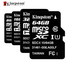 Kingston Class 10 Micro SD Card 16GB 32GB 64GB Memory Card C10 Mini SD Card 64 gb 32 gb SDHC SDXC TF Card Microsd ES Stock(China)