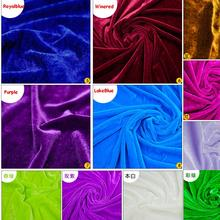 Gold Velvet Fabric table cloth fabric Conference curtain decoration 160cm wide/250G/Meter