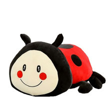 Ladybug Plush Toy Cute Stuffed The beetles Girl Plush Pillow Creative Doll Super Soft Sofa Decorative Pillow Children Kids Toys(China)