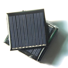 Hot 0.25W 5V Min Solar Panel Epoxy Solar Cell DIY Solar Charger/Toys/Module System 2PCS/Lot Education Kits 45*45MM Free Shipping(China)