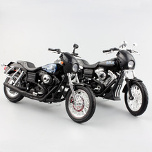 1/12 scale kids Harley motorcycle 2003 DYNA SUPER GLIDE Sport 2006 Street BOB Son of Anarchy Motocross die cast model metal toys(China)