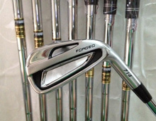 brand Golf Irons Clubs  left hand or right hand Golf inons Forged Irons With Steel Shafts Brand golf clubs golf 7