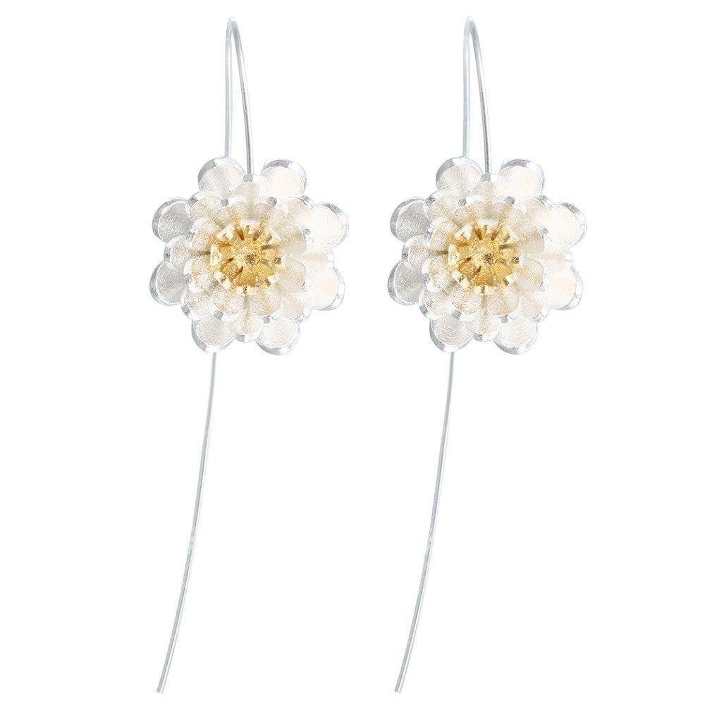 QIAMNI-925-Sterling-Silver-Lotus-Flower-Dangle-Drop-Earring-Hook-Minimalist-Jewelry-for-Women-Girls-Wedding
