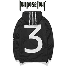 New Jackets Men Casual Brand Fashion Jacket Couple Lover Purpose Tour Coaches Zipper 2017 Season 3 Windbreaker Windproof Jacket