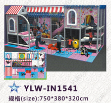 sweet candy rush amusement park equipment/amusement playground park/cartoon Indoor children play house/indoor play(China)