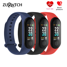 Buy Smart Bracelet Fitness Tracker Smart Wristband Color Screen Smart Band Heart Rate Blood Pressure Smart Watch Band PK Mi Band 3 for $17.09 in AliExpress store