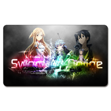 (Sword Art Online 2 Playmat) 525 Custom Anime Board Games Sexy Play Mat Card Games Custom Big Pad with Free Storage Bag(China)