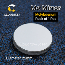 Cloudray Mo Mirror D25mm THK 3mm 1Pcs High Quality for CO2 Laser Engraving Cutting Machine