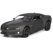 RMZ City CHEVROLET CAMARO 1/36 Scale 5 Inch Diecast Vehicles Model Car Toys Best Gift for Children Black