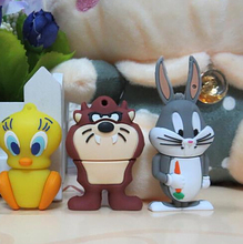 100% real capacity Duffy duck and rabbit  Little cartoon model USB Pen Drive Disk Flash Memory Stick pendriveping S549