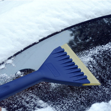 Car Snow Cleaner Soft Rubber Snow Shovel Windshield Window Squeegee Ice Scraper Water Wiper House Multi Vinyl Cleaner(China)