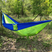 2017 hot Swing Cotton Sleeping Bags Sleeping Hammock Swing Bed Sleeping Tree Mesh Outdoor Camping Travel Single Use Free Shippin