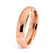 !USA S BRAZIL RUSSIA CANADA UK HOT SELLING 4MM ROSE GOLD PLATING BRIDALTUNGSTEN WEDDING RING - Top Fine Jewelry World ( and retail jewelry store store)
