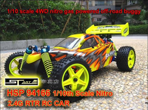 94166 HSP 4WD nitro Off Road RC Buggy