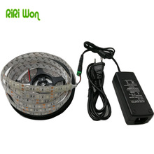 RiRi won LED Plant grow strip light Waterproof 5050 SMD Hydroponic Systems leds strip light 36W Full spectrum Grow plant light(China)