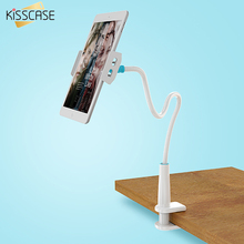 KISSCASE 80cm Long Arm Adjustable Bracket Phone Holder For iPhone 7 6 6S Plus iPad For Samsung S8 Plus S7 S6 Edge Stand Tablet