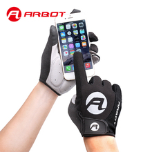 ARBOT New Women Men Cycling Gloves Full Finger Bicycle Gloves Anti Slip Gel Pad Motorcycle MTB Road Bike Glove Luva mittens