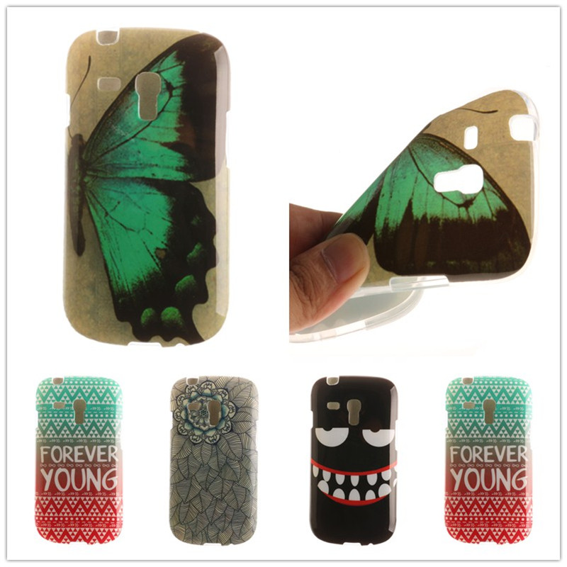 Cute Owl lion Flower Silicon Phone Cover For font b Samsung b font galaxy s3 mini