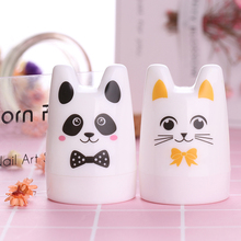 Cute Rabbit Panda Cat Design Nail Art Stamper 3.5cm Silicone Head with BORN PRETTY Scrapers Manicure Nail Stamping Tool Set