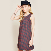 HaydenGirls Europe cute gifts 2017 Autumn New Articles Medium Large Girls Lecturers Backstreet Clothing(China)