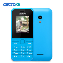 Original Cectdig Mini 225 Unlocked Mobile Phone Dual Sim Long Standby Flash Light FM Radio Old Men Russian Menu elder Cell Phone(China)