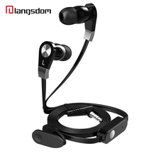 Newest Original Piston Basic version stereo Earphones 3.5mm Flat line design With Mic For Samsung S8 Hongmi Note3 Xiaomi Mix
