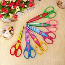 Photo Album Creative DIY Stainless Steel Craft Scissors Kids Wavy Pinking Shears Childrens Handcraft Card Decorative Lace Shears