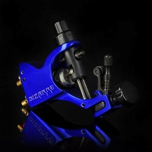 New rotary tattoo machine Stigma Bizarre V2 blue tattoo machines maquina de tatuagem rotary maquinas de tattoo rotativas(China)
