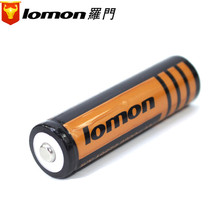 1pcs! Lomon 3.7V 2200mAh 18650 Li-ion Battery Rechargeable 18650 Lithium Battery for LED Flashlight Headlamp Bicycle Light