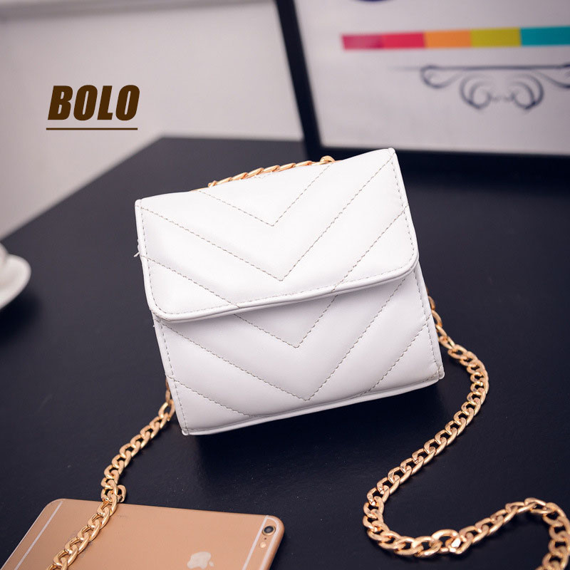 BOLO Brand!Free shipping!2017 new women shoulder diagonal package Lingge small square package of high-quality PU leather handbag<br><br>Aliexpress