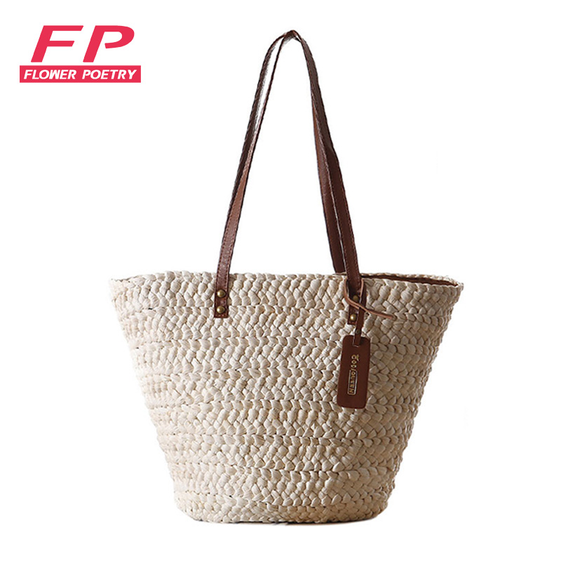 Fashion beach bag ladies casual shoulder bag summer style straw shopping bags Large capacity women Straw bag famous brand<br><br>Aliexpress