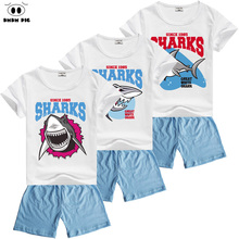 DMDM PIG New Summer Baby Clothes For Boys Toddler Girl Clothing Sets Children's Sports Suits Kids Boys Clothes T-Shirts + Shorts(China)